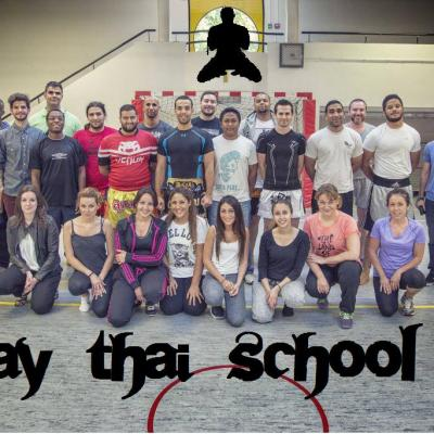 Photo fin d'année juin 2014 MUAY THAI SCHOOL 92 by Coach Riad Bel