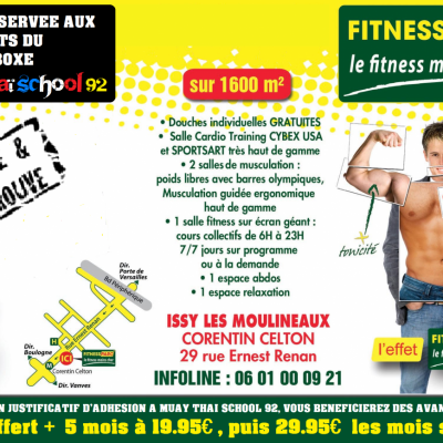 OFFRE SPECIALE FITNESS PARC ISSY