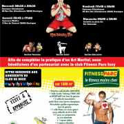 AFFICHE OFFRE TARIFAIRE FITNESS PARC ISSY
